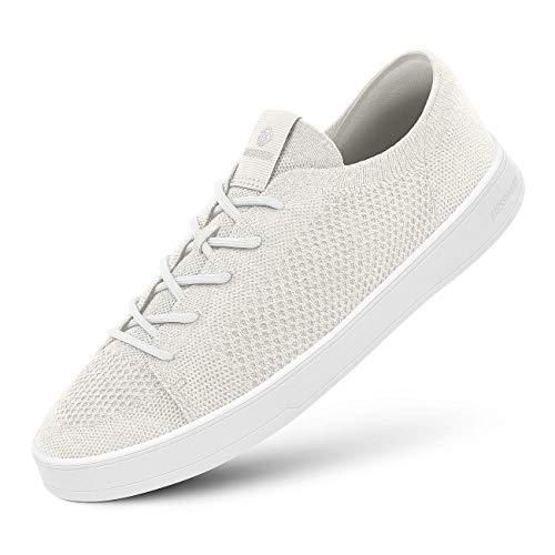 GIESSWEIN Wool Sneaker Women - Platform Damen Schuhe, Low-Top Halbschuhe, Freizeit Sneakers aus Merino Wool 3D Stretch, Superleichte Schnürer