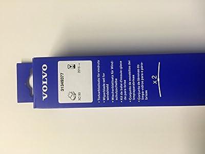 Genuine Volvo 31349377, Front Wiper Blade Kit (XC90 2016-)