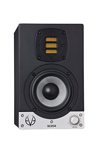 Eve Audio SC204schwarz Lautsprecher–Lautsprecher (Universal, XLR, Boden, integriert, 10,2cm (4), 10cm)