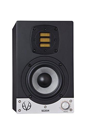 'Eve Audio SC204schwarz Lautsprecher–Lautsprecher (Universal, XLR, Boden, integriert, 10,2cm (4), 10cm)