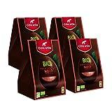 Côte d'Or – Œuf au Chocolat Noir – Lot de 4 – Certifié BIO – Fêtes de Pâques – Pack Cadeau Premium –165 g