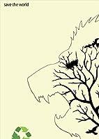 igsticker ポスター ウォールステッカー シール式ステッカー 飾り 841×1189㎜ A0 写真 フォト 壁 インテリア おしゃれ 剥がせる wall sticker poster 006476 アニマル 動物 植物 鳥
