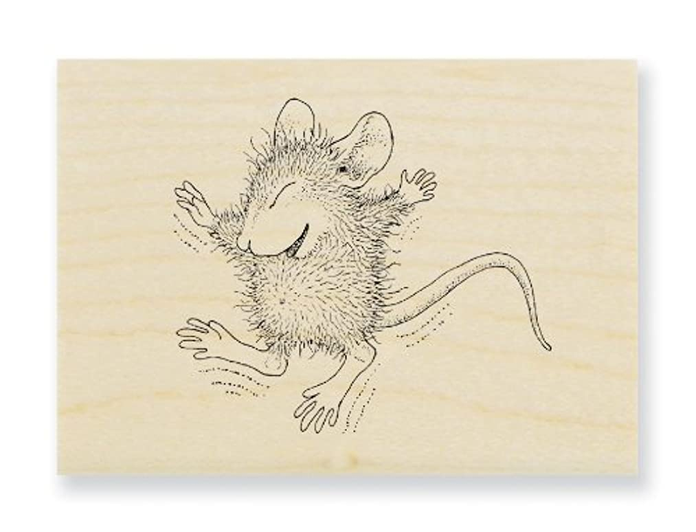 STAMPENDOUS Wood Handle Stamp, Tiny Jumper