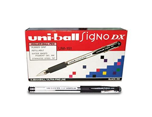 UNI-BALL pz. 1 Penna a sfera Signo Dx. nero 0.38mm M UM151 N