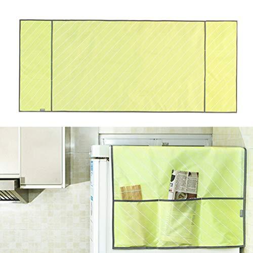 Iaywayii Oxford Tuch-Abdeckung Bunte wasserdichte Twill Organisation Staubschutz mit Aufbewahrungstasche für Kühlschrank Schutz