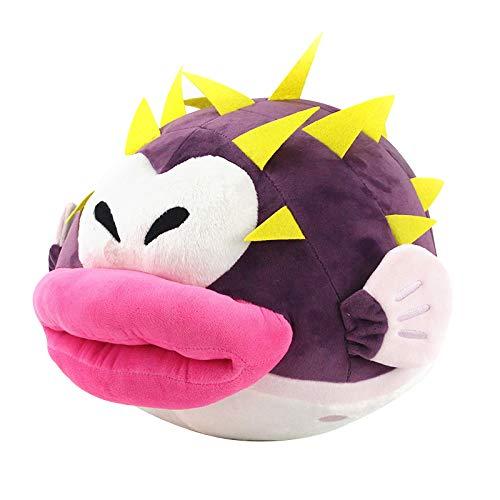 letaowl Peluches Doudou 27 Cm Nouveau Super Mario Bros Puffer Fish Explosion Poissons en Peluche Jouets Animaux en Peluche Poupées Cadeau pour Enfants