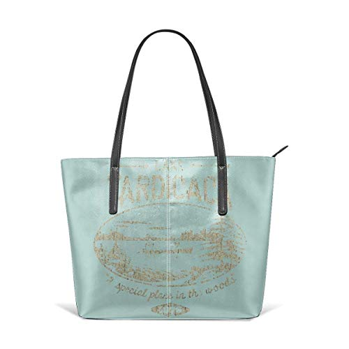 xcvgcxcbaoabo Mode Handtaschen Einkaufstasche Top Griff Umhängetaschen Lake-tardicaca-vintage Oversized Leather Handbag Clearance Sale