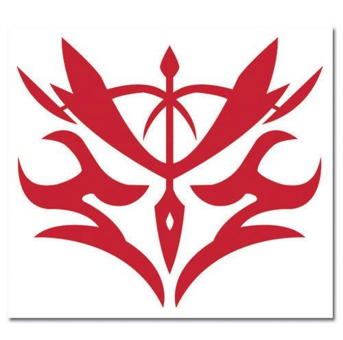 Fate/zero Kayneth Command Seal Temporary Tattoos by Animewild