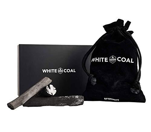 McBrikett WHITE COAL Binchōtan Holzkohle 1 kg, feinste Holzkohle zum Grillen