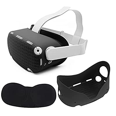 Amazon - 20% Off on VR Shell Silicone Face Protector Cover Dust Proof Washable Compatible for Oculus Quest 2