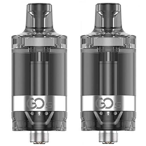 Innokin GO S MTL Tank, Atomizzatori da 1.6ohm, 20 mm, 2 PEZZI - Senza Nicotina (Black)