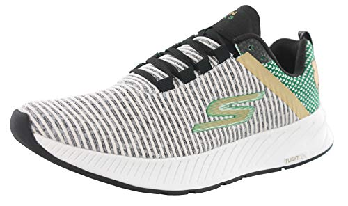 Skechers Performance Go Run Forza 3-Boston Marathon 2019 White/Green 10