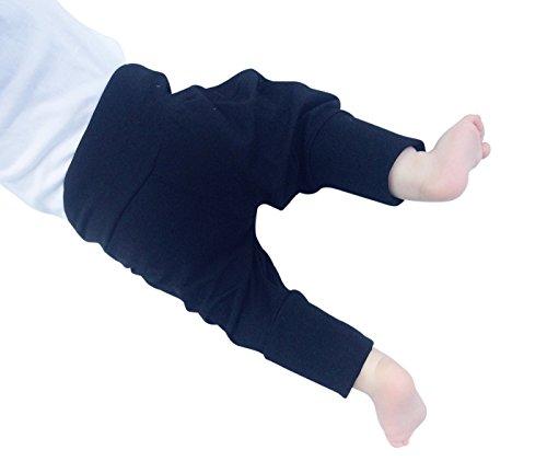 Annsfashion 'Violet Enfant Pantalon Bouffant Mitwachs Pantalon Noir Taille 50–116 - Noir - 18 Mois