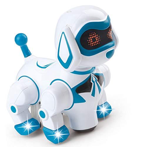 Vokodo Pet Robotic Dog Interactive Kids Toy Puppy Walks...