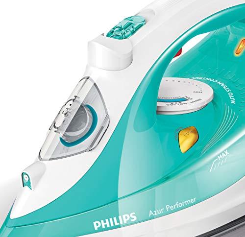 Philips GC3811/70 GC3811/70-Plancha de Vapor Azul, 2400 W, 0.3 litros,