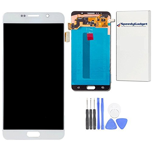 White OLED LCD Touch Screen Glass Display Assembly for Samsung Galaxy Note 5