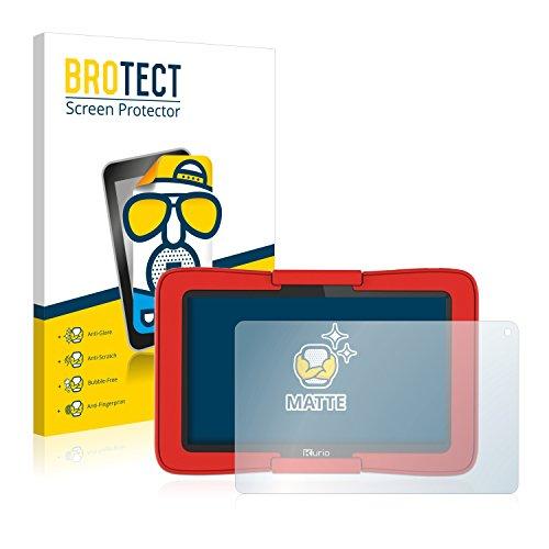 BROTECT 2X Entspiegelungs-Schutzfolie kompatibel mit Kurio Tab Motion C14100 Displayschutz-Folie Matt, Anti-Reflex, Anti-Fingerprint