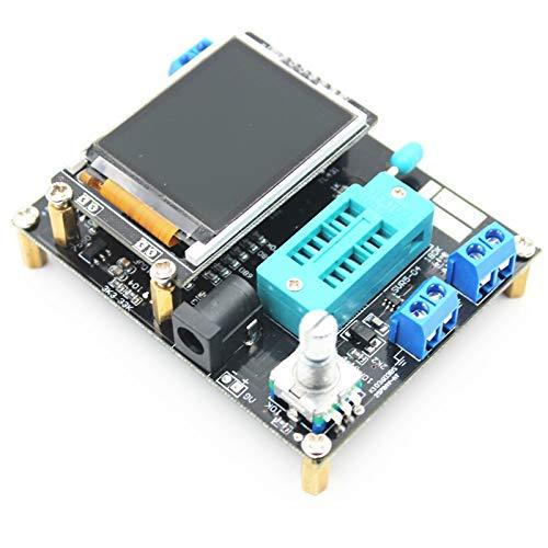 Módulo de bricolaje probador industrial Frecuencia LCD transistor Tester diodo de capacidad...