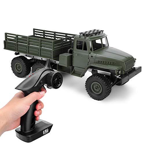 FOTABPYTI Coche RC 1/16, Coche Juguetes Control Remoto Monster Truck Vehículos eléctricos para niños Coche RC de Seis Ruedas, para niños al Aire Libre Niños Adultos