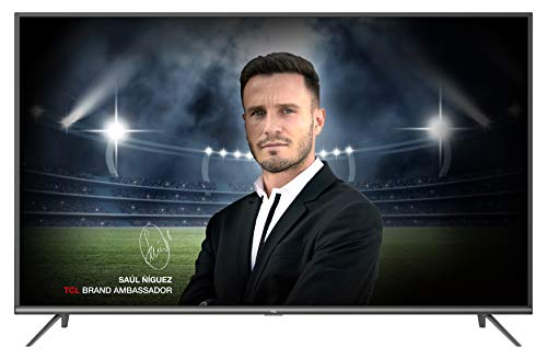 TCL 55EP640 Televisor 139 cm (55 Pulgadas) Smart TV con Resolución 4K UHD, HDR10, Micro Dimming Pro, Android TV, Alexa,...