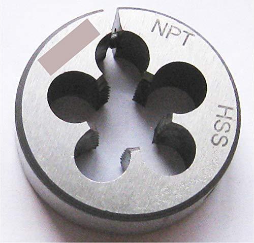 Luctool 1/4-18 NPT Pipe Die Round Adjustable Split Die 1-1/2