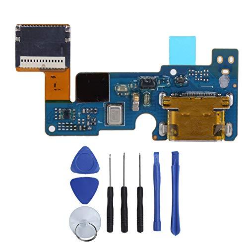 Placa de Puerto de Carga USB con Cable de Enchufe Trasero de Repuesto con Herramienta de reparación para LG G5 H850 / H840 / H820