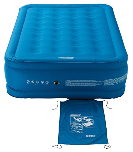 Coleman Luftbett Extra Durable Raised Double, blau, XL, 2000031639