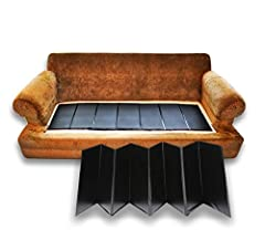 "RESTORE YOUR FURNITURE - Restore, Lift and Fix Sagging Sofas - (17""L x 66""W) NEW DELUXE EXTRA THICK - New and Improved version; 60% thicker than competing brands! EASY TO INSTALL - Slips under seat cushion to renew firmness and comfort CORRECT YOUR S..."