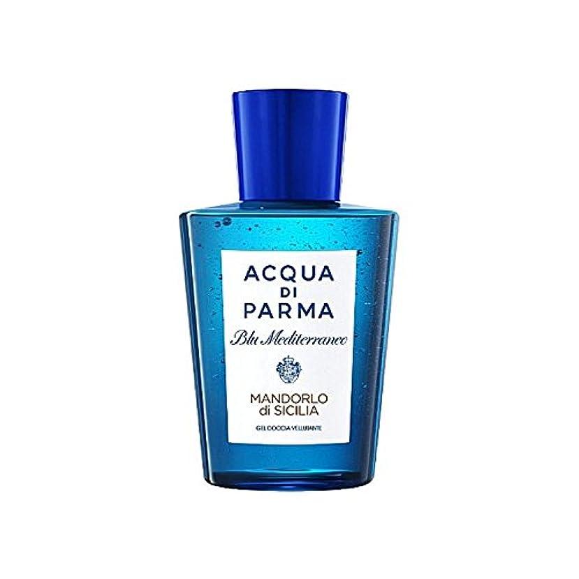 行列成果アトラスAcqua Di Parma Blu Mediterraneo Mandorlo Di Sicilia Shower Gel 200ml (Pack of 6) - アクアディパルマブルーメディマンドルロディシチリアシャワージェル200 x6 [並行輸入品]