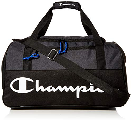Champion unisex adult Duffel Bag Gray/Black One Size US