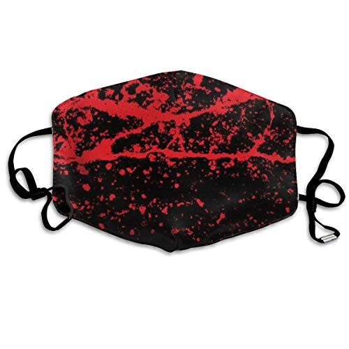 Grunge Style Halloween met Blood Splats Masker mondmasker Hals Gamaschenmasker Bandana bivakmuts