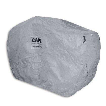 CAPA Schutzhaube für Pferdekutschen als Kutschen Abdeckung Cover und Schutz sowie Schutzhülle für Pferdekutschen Shetty in grau Typ CC-01