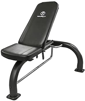 Marcy Multipurpose Utility Weight Bench – Adjustable Backrest Positions Home Gym Equipment SB-10900