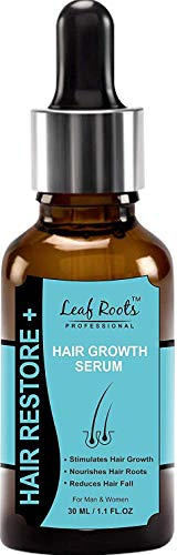 LEAF ROOTS Professional Hair Growth Serum 30ml Nourishes Hair , Reduces Hair Fall, for Men and Women