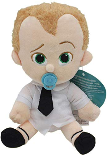20cm The Boss Baby Plush Toys Cartoon Action Figure Dolls Born Leader Suit Diaper Stuffed Baby and Dog Toys for Children Gifts (2) (2)