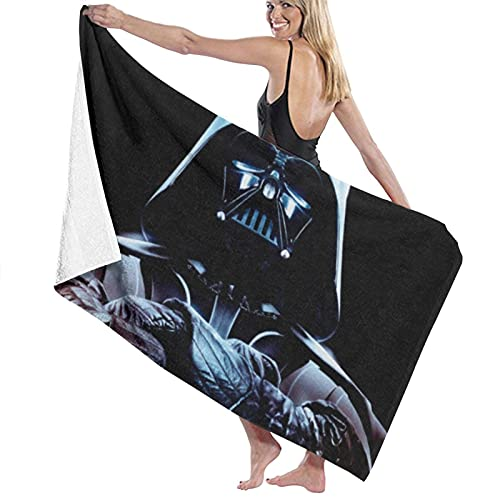 asdew987 Juego de toallas de playa de Star Wars para baño, toallas de baño, toalla de piscina, toalla de viaje y baño, 80 cm x 130 cm