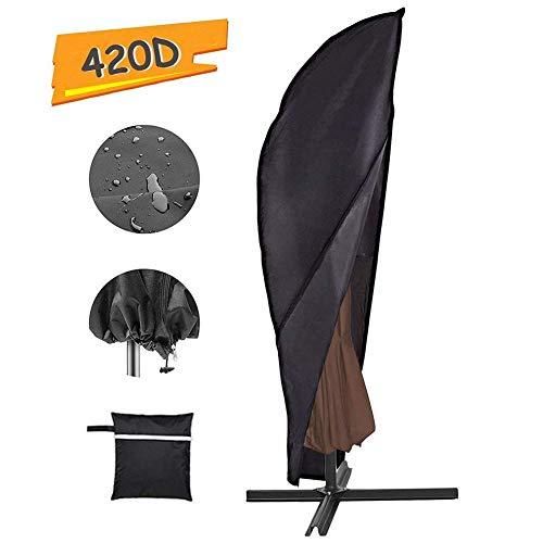 Waterdichte Oxford Outdoor Patio Paraplu Cover, Storage Cover Geschikt voor 9-13ft Garden Seaside Paraplu Zonnescherm Cover, Four Seasons Protection En Duurzaam
