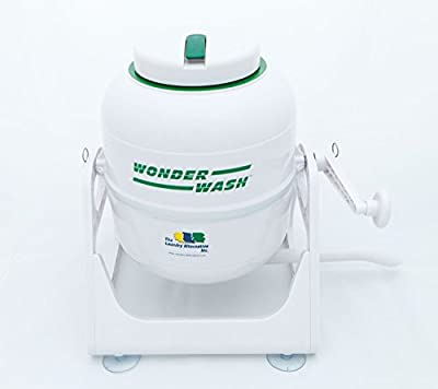 The Laundry Alternative Wonderwash Non-electric Portable Compact Mini Washing Machine