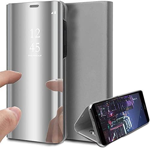 Aikowener Funda Samsung Galaxy S20 Plus, Funda de Piel para teléfono móvil con Espejo abatible, Funda de Piel, Funda para teléfono móvil, Funda Protectora Samsung Galaxy S20 ✅