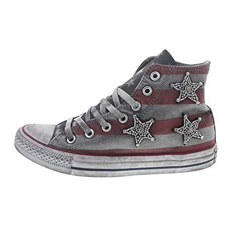 Converse, mujer, Chuck Taylor All Star High Canvas Ltd Jewels Stars and...