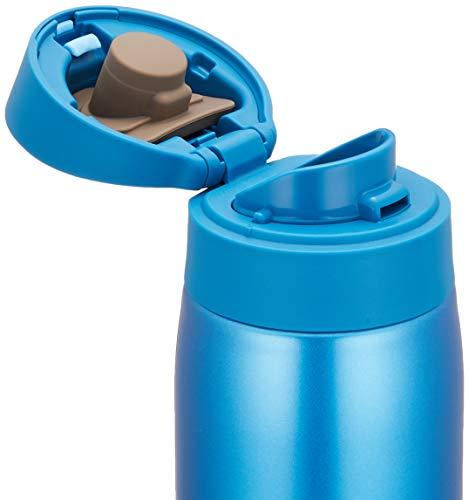 『タイガー 水筒 500ml サハラ マグ ステンレスボトル ワンタッチ 軽量 スカイブルー MCX-A501AK』の2枚目の画像