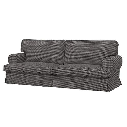 Soferia Bezug fur IKEA EKESKOG 3er-Sofa, Stoff Stewart Grey Pattern