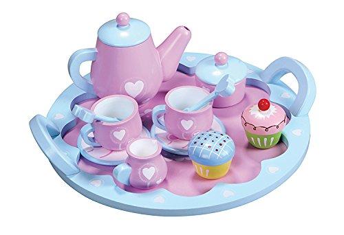 Lelin Toys - 30624 - Jeu D'imitation - Cuisine - Service À Thé - Cœur