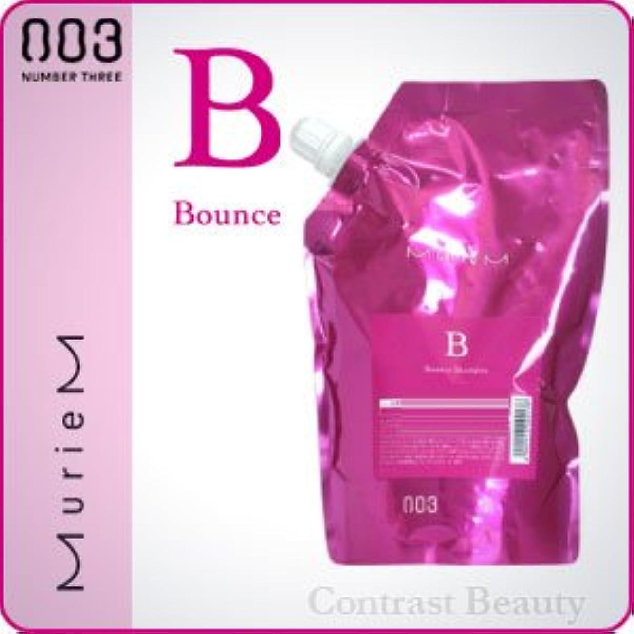 ブレス作業目の前の【X5個セット】 ナンバースリー ミュリアム シャンプー B 500ml 詰替え用