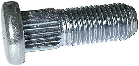 10 M10-1.25 X 30 Wheel Studs - Round Head
