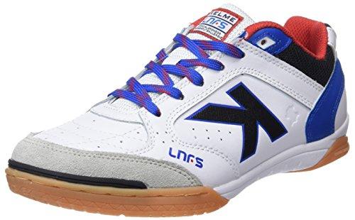 Kelme Precision Lnfs 18, Zapatillas de Fútbol Sala para Hombre, Blanco (Blanco 6), 43 EU