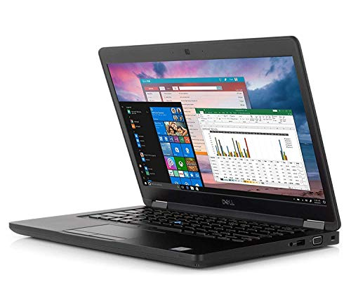 Dell Latitude 5000 5490 14' HD (1366x768) Business Laptop (Intel Quad-Core i5-8350U VPro, 8GB DDR4 RAM, 256GB SSD) Backlit, Type-C, VGA, HDMI, Webcam, Windows Hello, Windows 10 Pro 64-bit