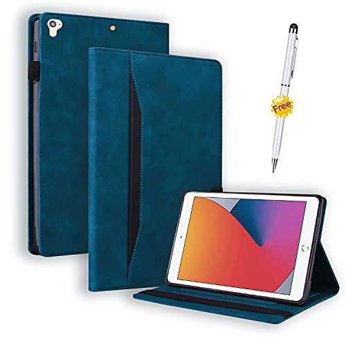 Funda Samsung Galaxy Tab S7 11 Pulgadas 2020, Case Carcasa Samsung Tab S7 11 2020 5G(SM-T870/875,T876B), con lápiz táctil con función Stand, Azul Oscuro