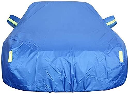Congxy Funda para Coche Exterior Impermeable para Mercedes Benz GL G ML R SLC SLK SL S V Clase Viano Vito Lona Accesorios Coche Interior (Clase G, Algodón Azul)