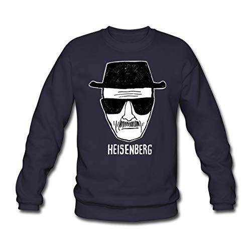 Spreadshirt Breaking Bad Heisenberg Skizze Zeichnung Unisex Pullover, XXL, Navy